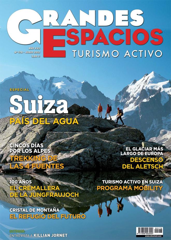 Portada de la revista Grandes Espacios nº178 (junio 2012) en ALTA  ()