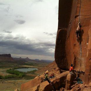 Iker y Eneko Pou en Indian Creek (Utah