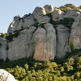 Paredes de la Cova de lArcada (Montserrat).  (Carles Brasco/Desnivelpress.com)