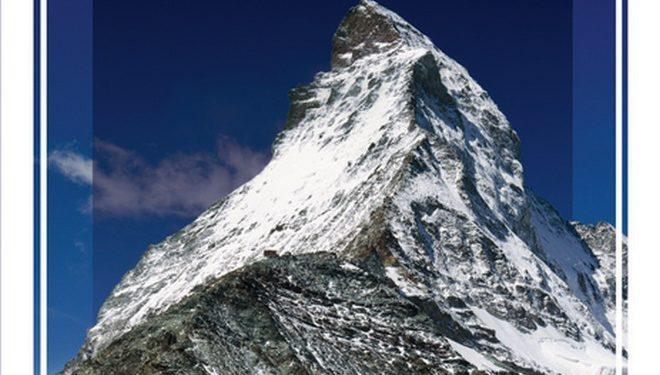 Portada del libro Matterhorn Region Valais. Víctor Riverola y Jekaterina Nikitina. ALTA  (Ediciones Desnivel)