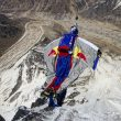 Valery Rozov saltando desde el monte Shivling (6.543 m)