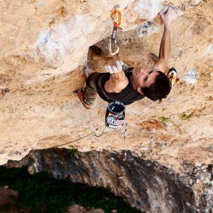 Ramon Julián en Catxasa 9a+/b (Santa Linya)  (Carlos Pérez)