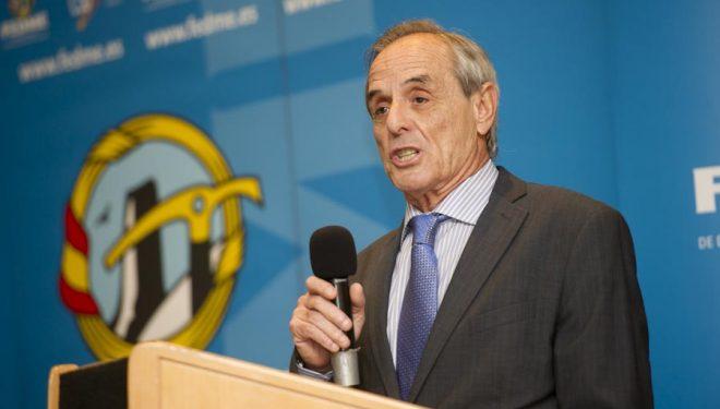 Joan Garrigós presidente de la FEDME.  ((c) Darío Rodríguez/Desnivel)