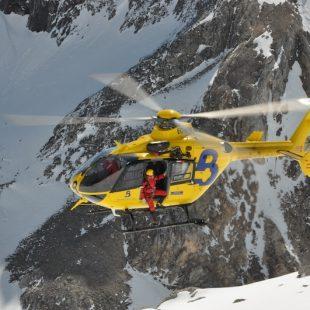 El helicóptero de rescate de Bomberos del Principado de Asturias  (©Guillermo Sáenz San Bartolomé)