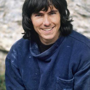 Wolfgang Güllich en 1988 durante una visita a España  (Darío Rodríguez)