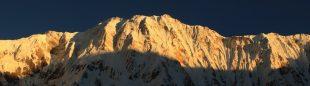 Cara sur del Annapurna.  ()