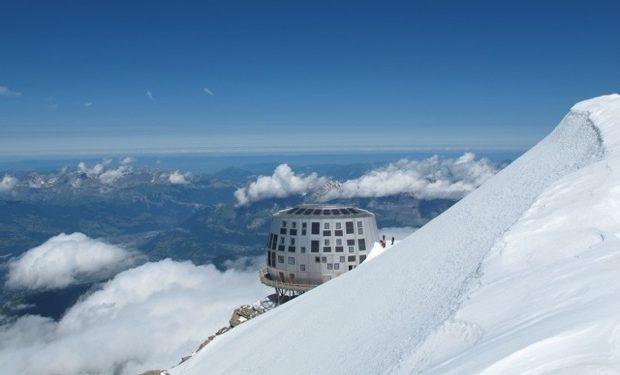 Refugio de Goûter en el Mont-Blanc  ()