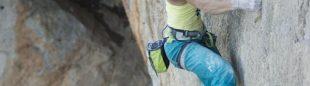 Caroline Ciavaldini en uno de los itinerarios. The North Face Kalymnos Climbing Festival 2012  (Darío Rodríguez / Desnivel)