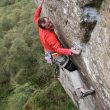 Dave MacLeod en Flight the feeling 8c+/9a (Steall