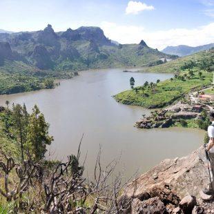 Gran Canaria tiene un elevado potencial para el turismo senderista.  (Canarias Natural)