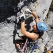 La práctica de la escalada artificial