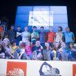 Foto de familia de todos los escaladores y escaladoras que han participado en The North Face Kalymnos Climbing Festival 2012  ()