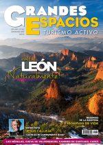 Portada de la revista Grandes Espacios nº 182. Especial León: Reserva de la Biosfera  (Ediciones Desnivel)