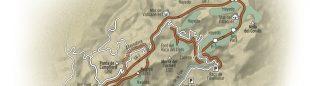 Mapa Hayedos de Retaule. Els Ports  ()