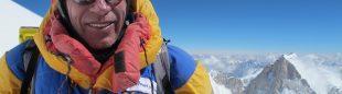 Òscar Cadiach en C4 (8.000 m) del K2  (Òscar Cadiach)