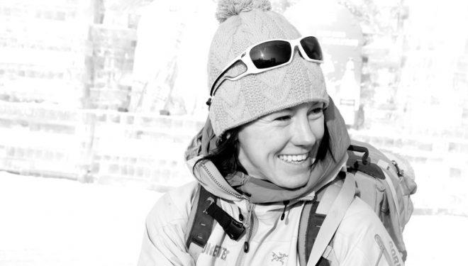 La escaladora Ines Papert  (Franz Walter)