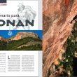 Apertura de la info zona del Barranco de Tartel (Almería). Desnivel nº 316  (Ediciones Desnivel)