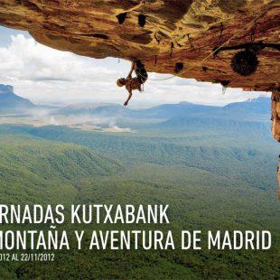 Cartel V Jornadas Kutxabank de montaña y aventura de Madrid 2012.  ()