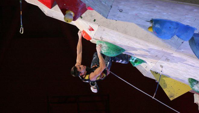 Ramon Julián vence la octava prueba de la Copa del Mundo de Escalada en Inzai (Japón)  (Toni Roy)