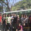 Grupo que ha limpiado Dhaulagiri en la operación limpieza financiada personalmente por Miguel Ángel Pérez.  (Miguel Ángel Pérez)