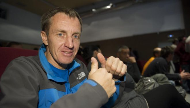 Denis Urubko en el European Mountain Meeting 2012