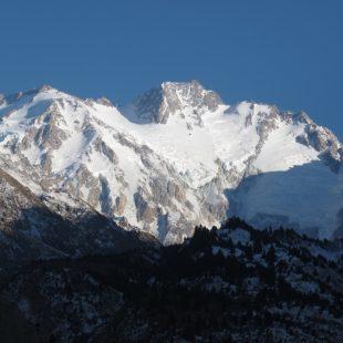 Vertiente Diamir del Nanga Parbat el 3 de enero de 2012  (Denis Urubko)