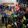Podio femenino de la prueba de Saas Fee (Suiza) de la Copa del Mundo de Escalada en Hielo 2013  (Lukasz Warzecha/UIAA)