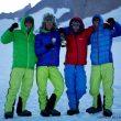 La expedición de Leo Houlding celebra el éxito en el Ulvetanna (Antártida)  (Berghaus / Alastair Lee)