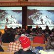 Un momento de las Primeras Jornadas de Prevención de Riesgos en Montañas de Asturias  (Col. Manuel Taibo)