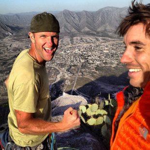 Josh Mccoy y Alex Honnold