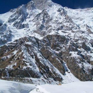 La vertiente Rupal del Nanga Parbat en invierno de 2013  (Joel Wischnewski)