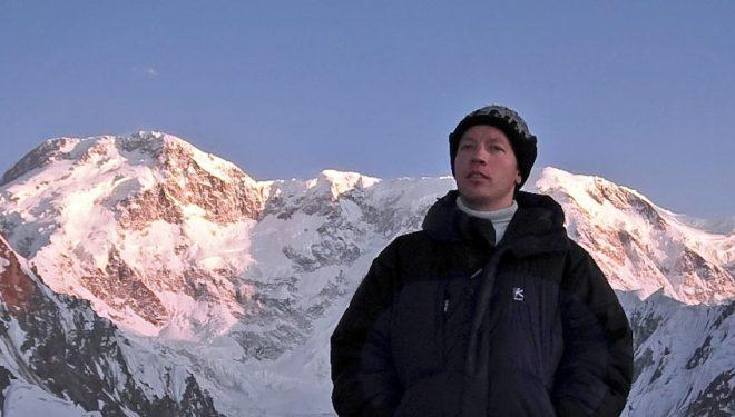 El alpinista kazajo Gennady Durov