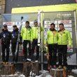 Podio masculino: Marc Pinsach y Nil Cardona (ganadores).Miguel Caballero y Quico Navarro (segundos)