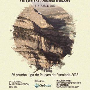 Poster del 4º Rally Arc'teryx 12h Escalada Terradets.  ()
