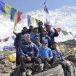 El equipo de la expedición de Carlos Soria al Kangchenjunga 2013  (Expedición BBVA Kangchenjunga)