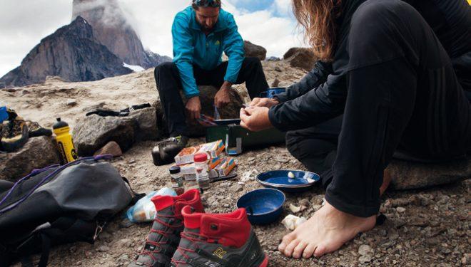 Alex y Thomas Huber en la Bavarian direct a la Torre Sur del Mt. Asgard (Baffin) ()