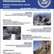 Cartel de la ornada sobre Seguridad para Guías de Montaña Profesionales.  (AEGM)