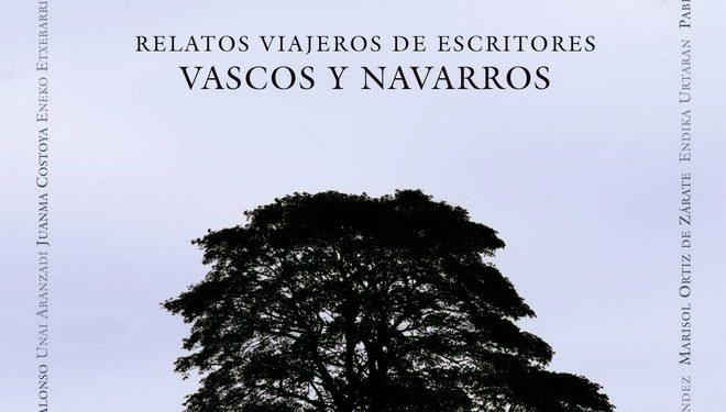 Portada del libro Inquietos Vascones. Relatos viajeros de escritores vascos y navarros. ()
