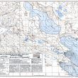 Mapa australiano de 1973 de la zona de la Pirámide Carstensz  (Papuaweb.org)