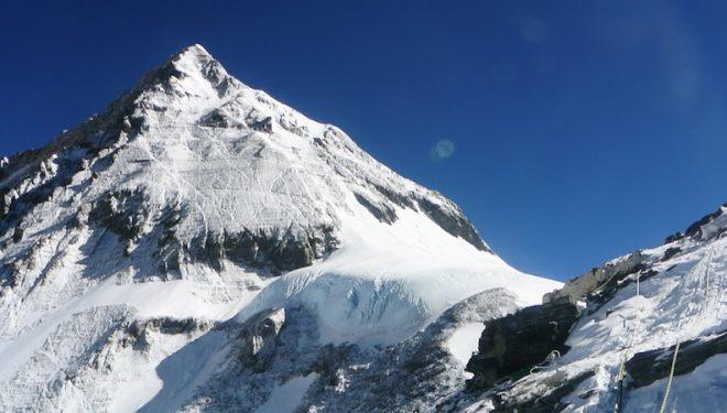 La cima del Everest