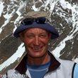 El alpinista italiano Silvio Mondinelli Gnaro en el campo base del K2. Julio 2004.  ()