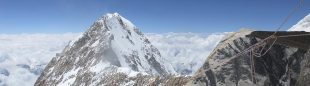 Parte superior ascensión Kangchenjunga.  ((c) Oscar Cadiach/Lluis Rafols)