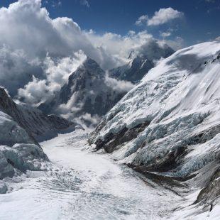 Valle del Silencio desde el C3 del Everest-Lhotse  (Ferran Latorre)