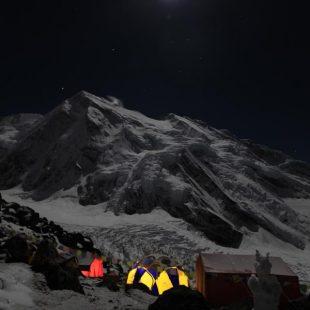 Campo base del Kangchenjunga.  ((c) Oscar Cadiach)
