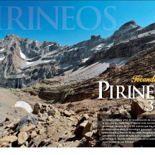 Apertura especial tresmiles del Pirineo de Grandes Espacios nº 189. Junio 2013.  ()