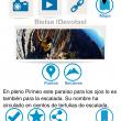 App ZonasdeEscalada.com. Pantalla de detalles de una zona de escalada