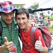 """Ramón Julián """"Ramonet"""" y Yuji Hirayama en el Campeonato del Mundo Escalada 2011 (Arco)  (Darío Rodríguez/Desnivel.com)"""