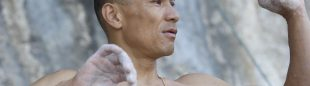 Yuji Hirayama. The North Face Kalymnos Climbing Festival 2012 ()