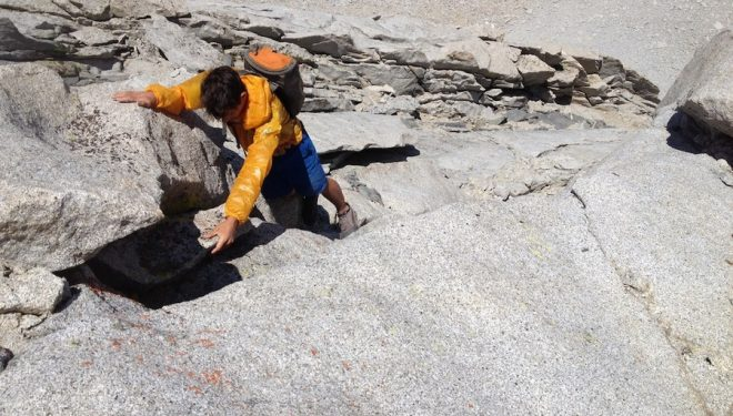 Alex Honnold en el Mt. Tyndall  (Cedar Wright)