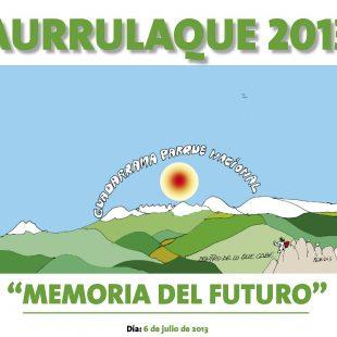 Imagen para el Aurrulaque 2013 dibujada por Peridis.  ()